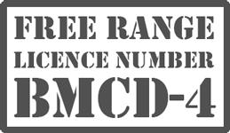 free range licence